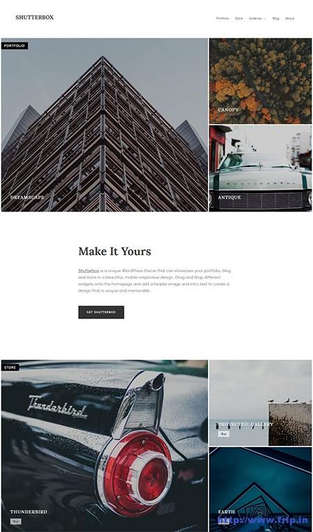 Shutterbox-WordPress-theme