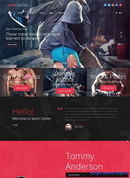 Sport-Center-Yoga-WordPress-Theme