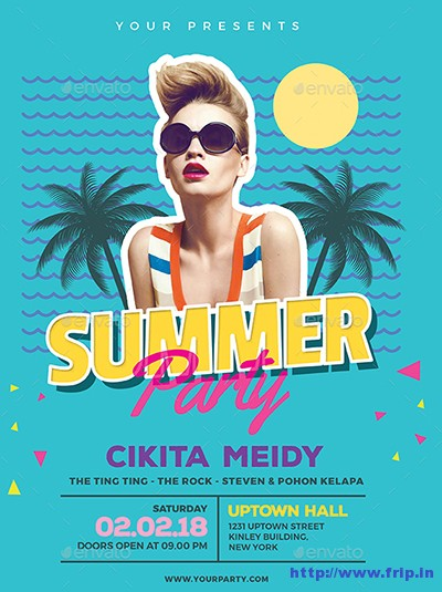 Summer-80s-Party-Flyer