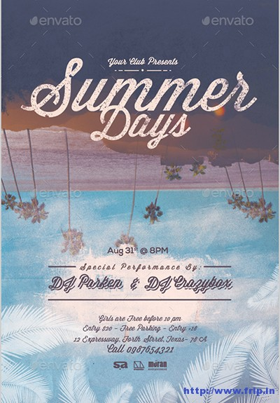 Summer-Days-Flyer