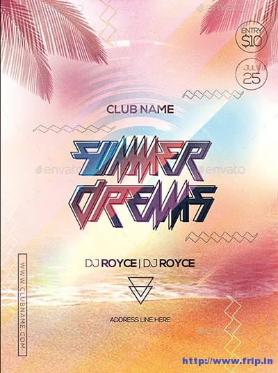 Summer-Dreams-Party-Flyer