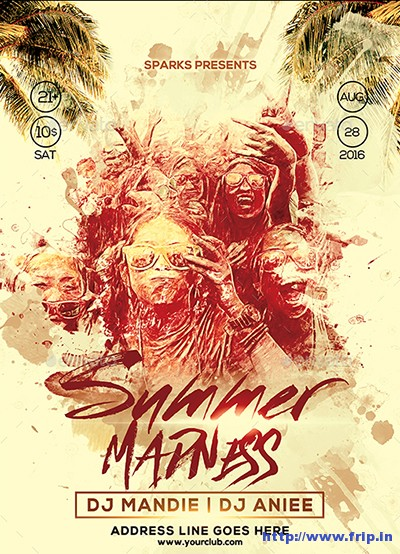 Summer-Madness-Party-Flyer