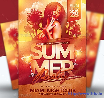 Summer-Party-Flyer-Templates