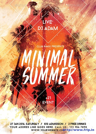 Summer-Party-Flyer