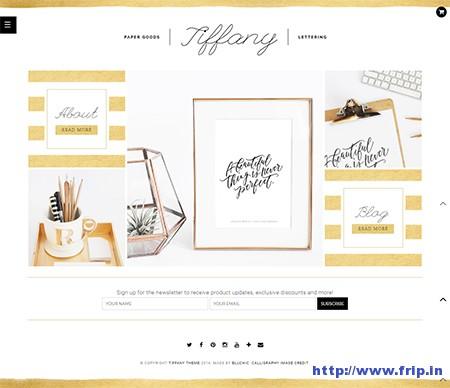 Tiffany-WooCommerce-WordPress-Theme