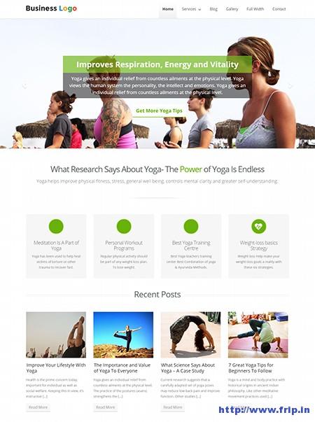 Traffica-Yoga-Style-WordPress-Theme
