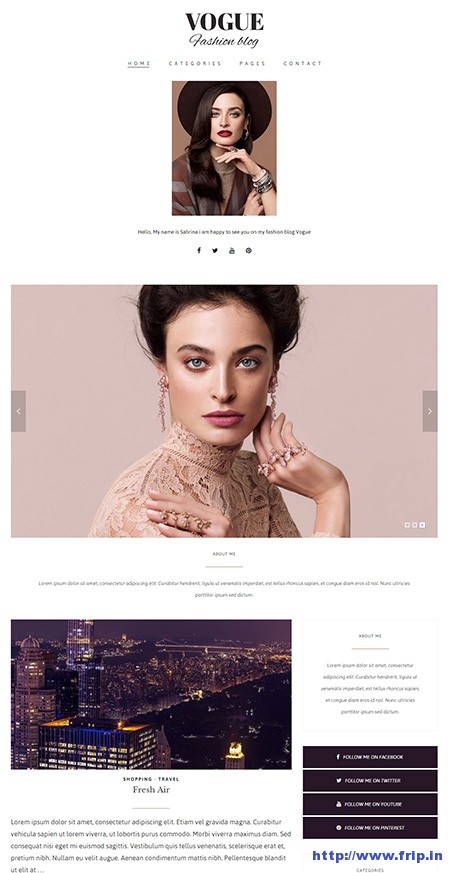 Vogue-fashion-blog-wordpress-theme