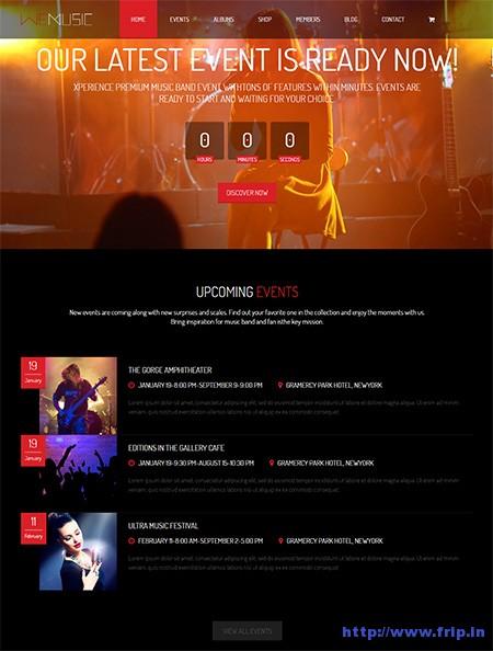 We-Music-Music-Band-Event-WordPress-Theme