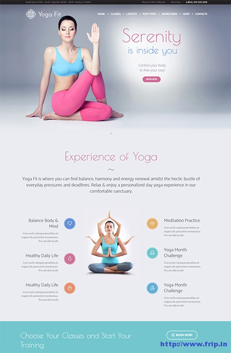 Yoga-Fit-WordPress-Theme