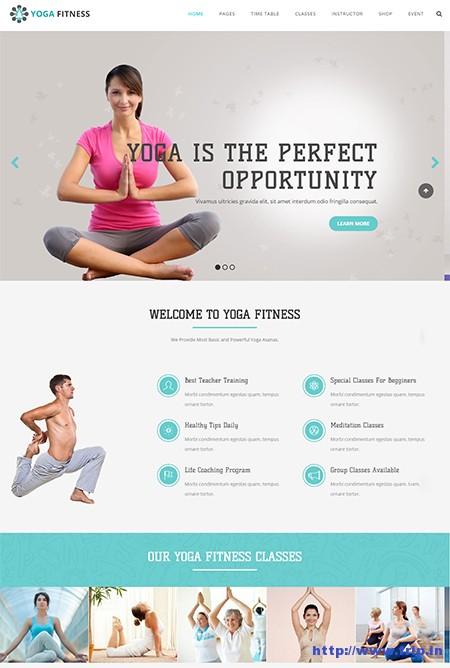 Yoga-Health-Beauty-&-Yoga-WordPress-Theme