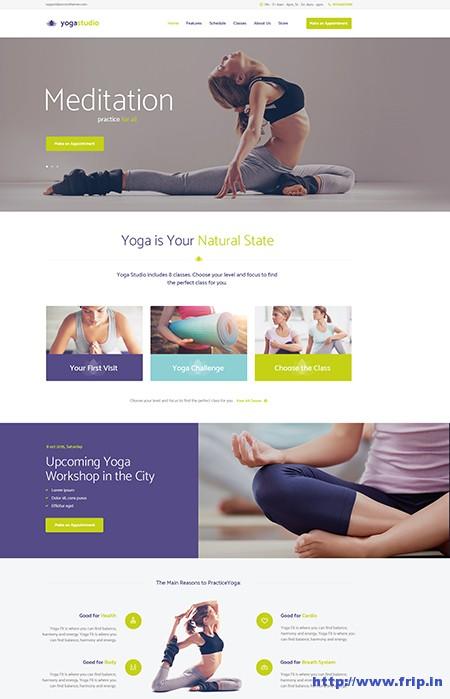 Yogastudio-WordPress-Theme