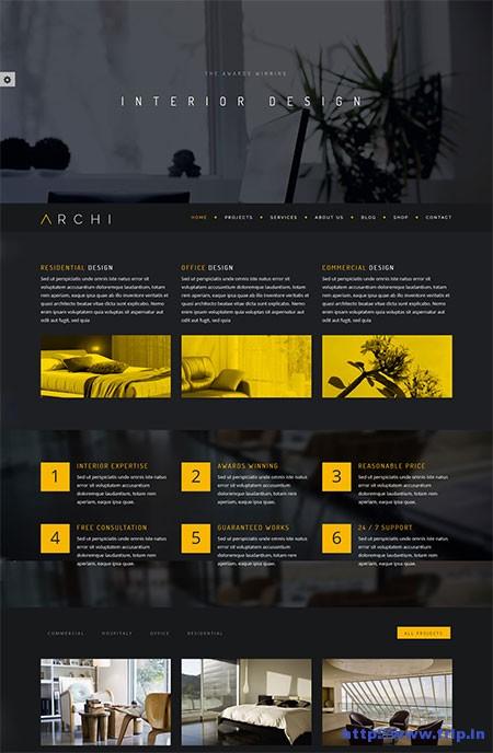 Archi-Interior-Design-WordPress-Theme