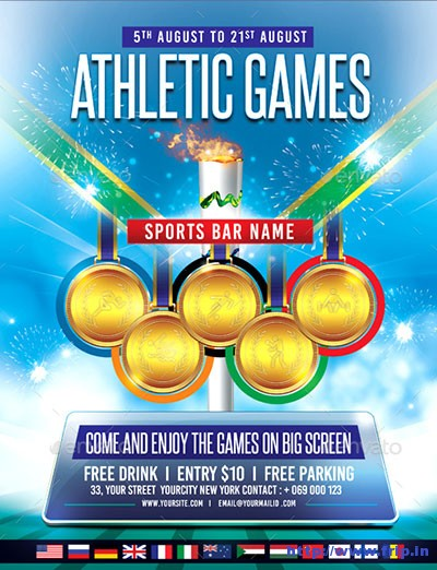 Athletics-Games-Flyer