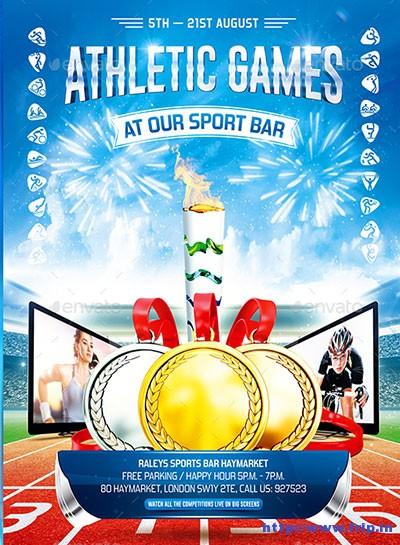 Athletics-Games-Poster