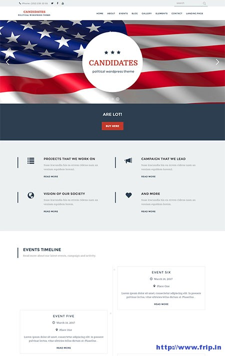 Candidates-Political-WordPress-Theme