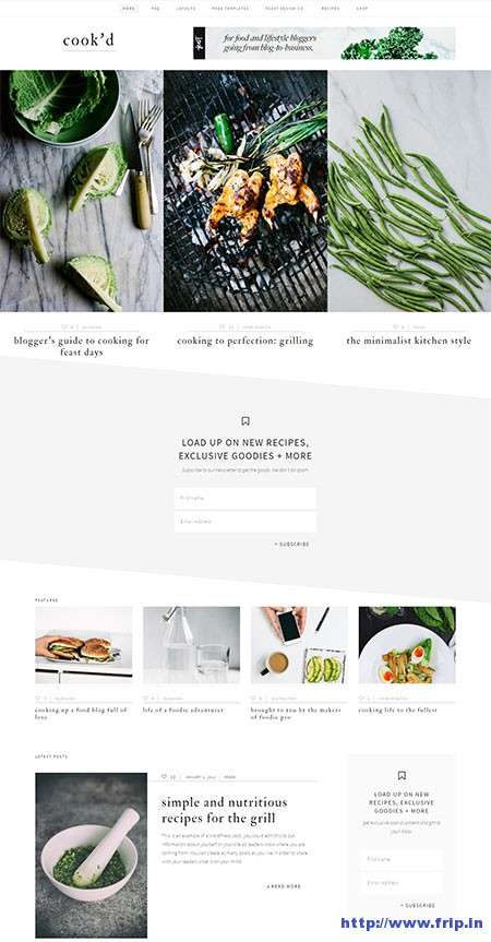 Cook'd-Pro-WordPress-Theme