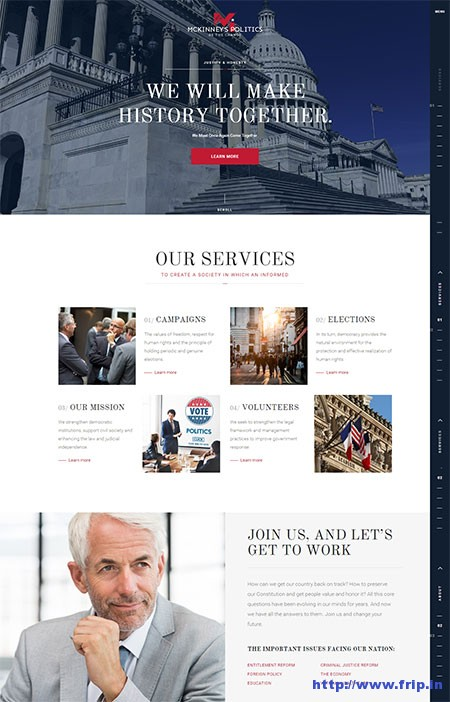 Elections-Political-&-Campaign-WordPress-Theme