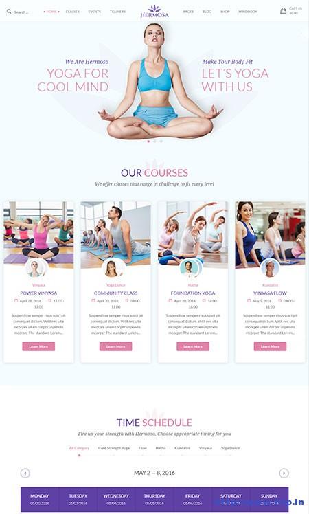 Hermosa-Yoga-WordPress-Theme