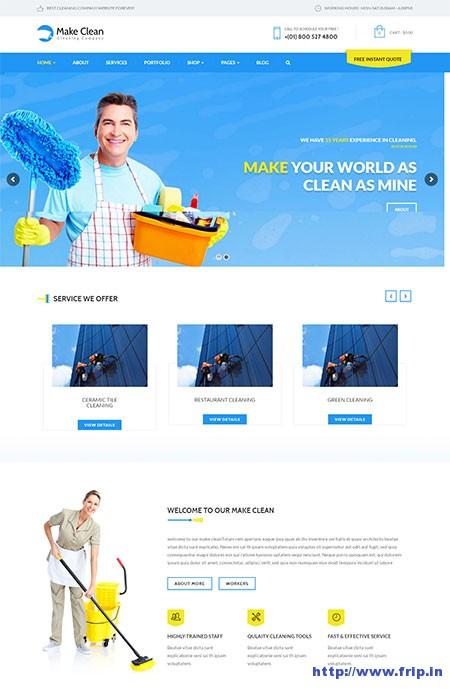 Make-Clean-Cleaning-WordPress-Theme