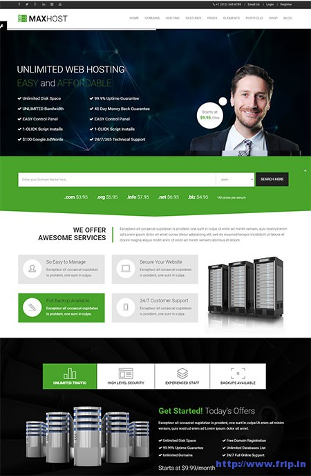 Maxhost-Web-Hosting-WordPress-Theme
