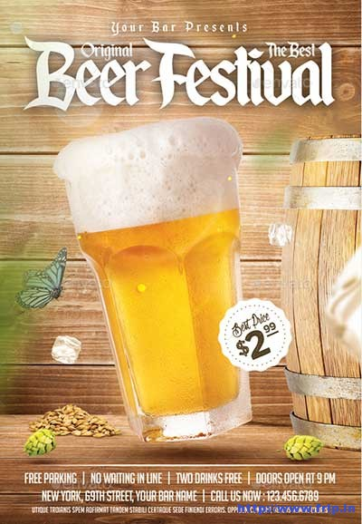 Oktoberfest-Beer-Flyer-Template