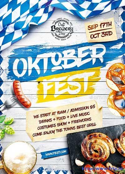Oktoberfest-Festival-Poster-Vol5