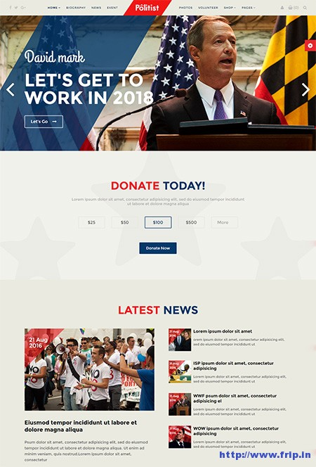 Politist-Politicians-WordPress-Theme
