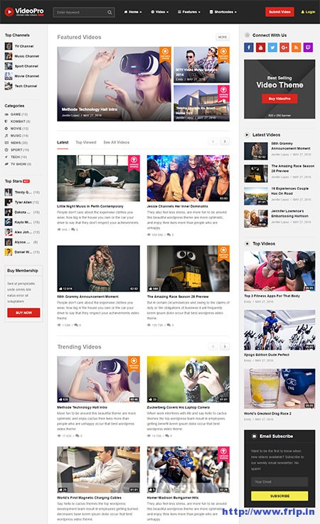 Video-Pro-Video-WordPress-Theme
