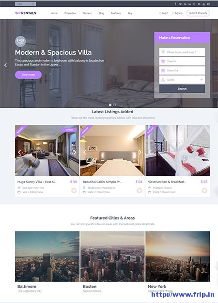 WP-Rentals-WordPress-Theme