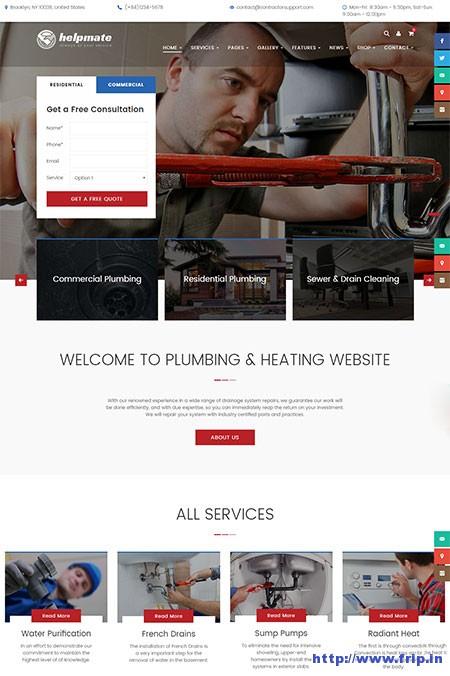 helpmate-maintenance-wordpress-theme