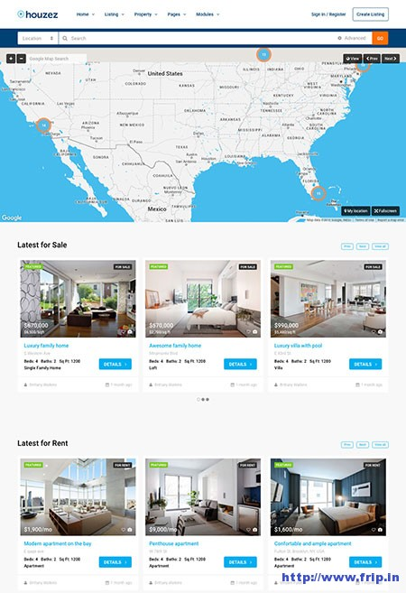 houzez-real-estate-wordpress-theme