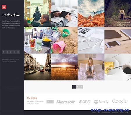 myPortfolio-WordPress-Theme