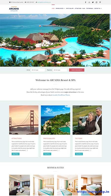 arcadia-wordpress-theme