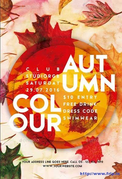 autumn-colour-flyer-template