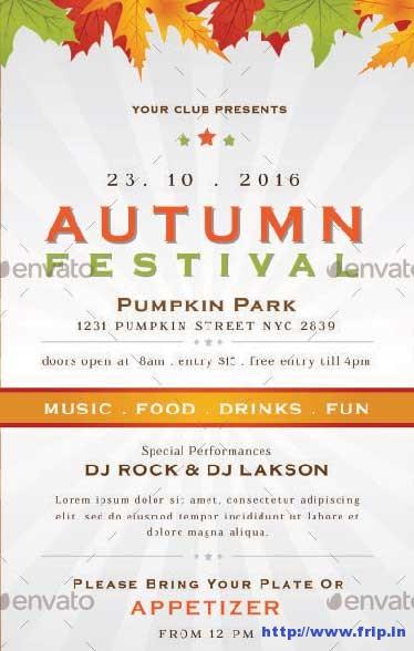 autumn-festival-flyers