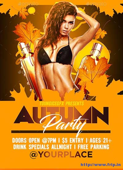 autumn-party-flyer-template