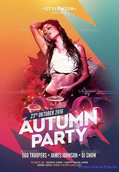 autumn-party-flyer