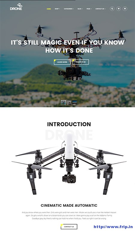 drone-single-product-wordpress-theme