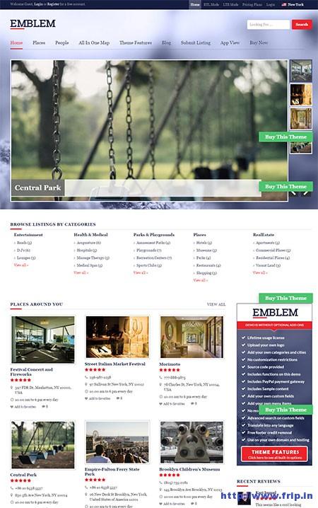 emblem-wordpress-directory-theme