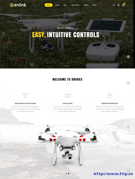 enlink-single-product-wordpress-theme