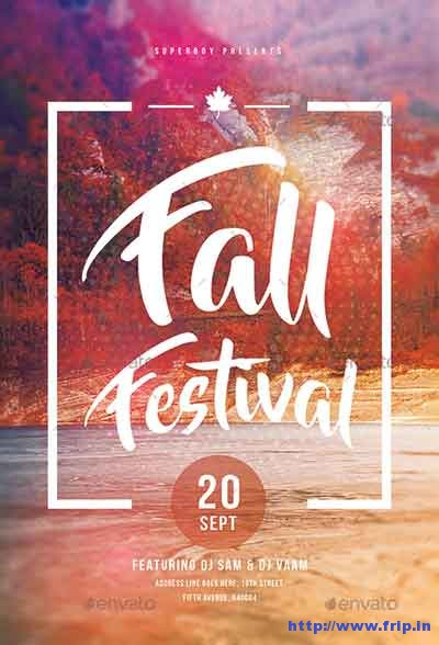 fall-festival-party-flyers
