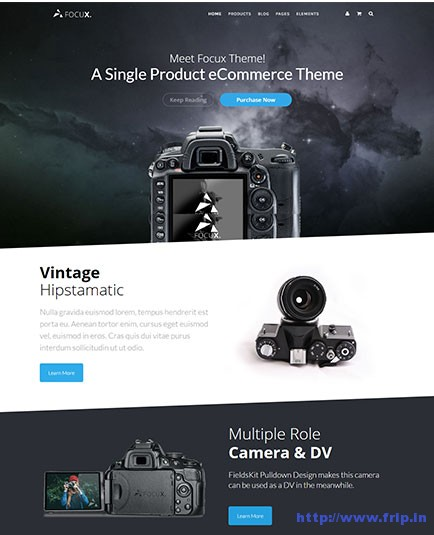 focux-multi-purpose-single-product-wordpress-theme