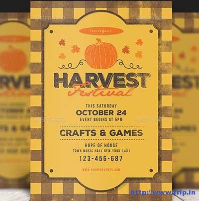 harvest-festival-flyer