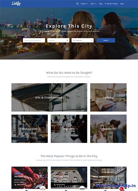 listify-wordpress-theme