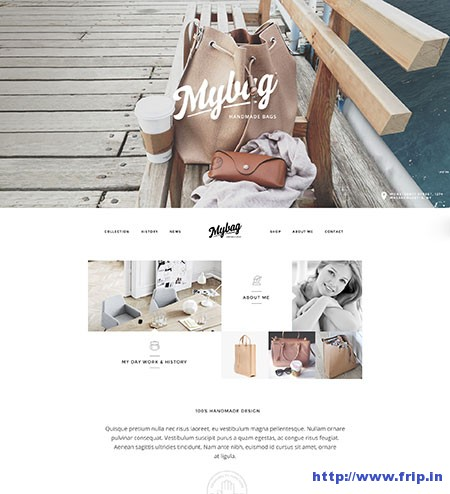 mybag-single-product-wordpress-theme