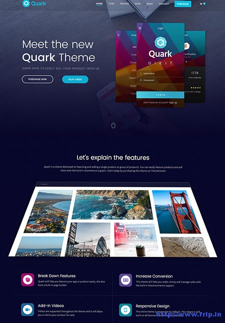 quark-single-product-wordpress-theme