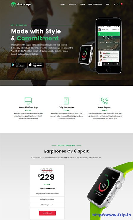 shopscape-single-product-wordpress-theme