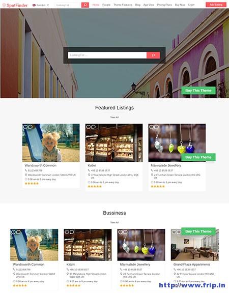 spot-finder-directory-wordpress-theme