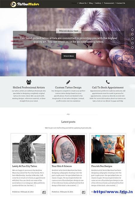 tattoomaker the-tattoo-wordpress-theme