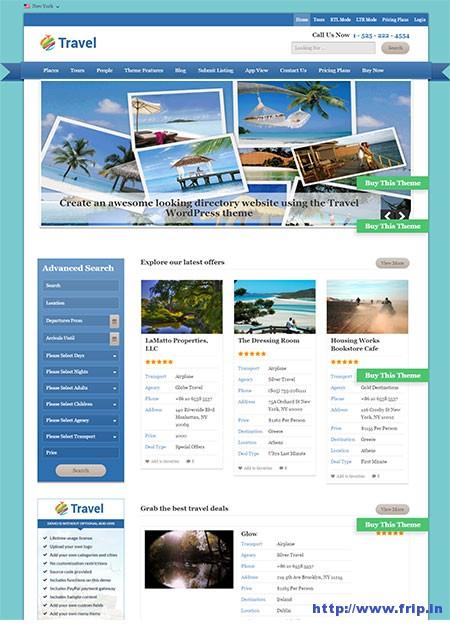 travel-directory-wordpress-theme